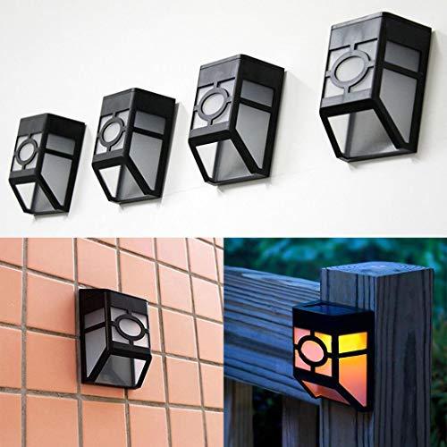 Erholi Solar Powered Wall Mount LED Light Outdoor Solar Wall Light Wall Lamps & Sconces