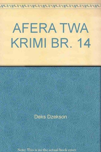 AFERA TWA KRIMI BR. 14