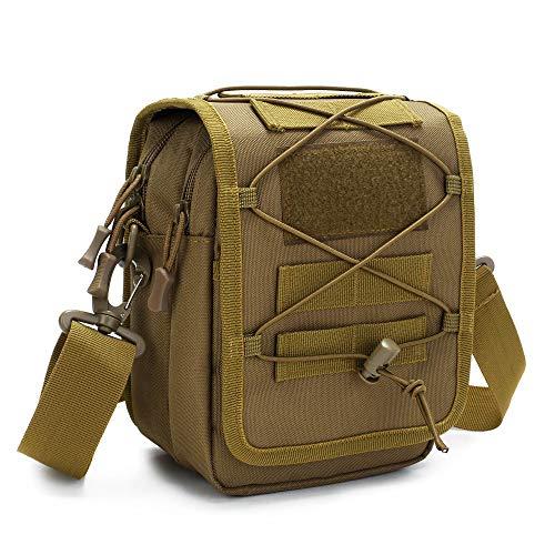 Huntvp Taktische Umhängetasche Molle Schultertasche Militär Crossbody Bag Wasserdicht Sling Rucksack Multifunktional…
