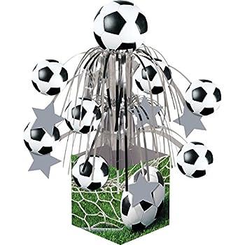 Amazon.com: Beistle Balón de fútbol Cascade Centerpiece, 71 ...