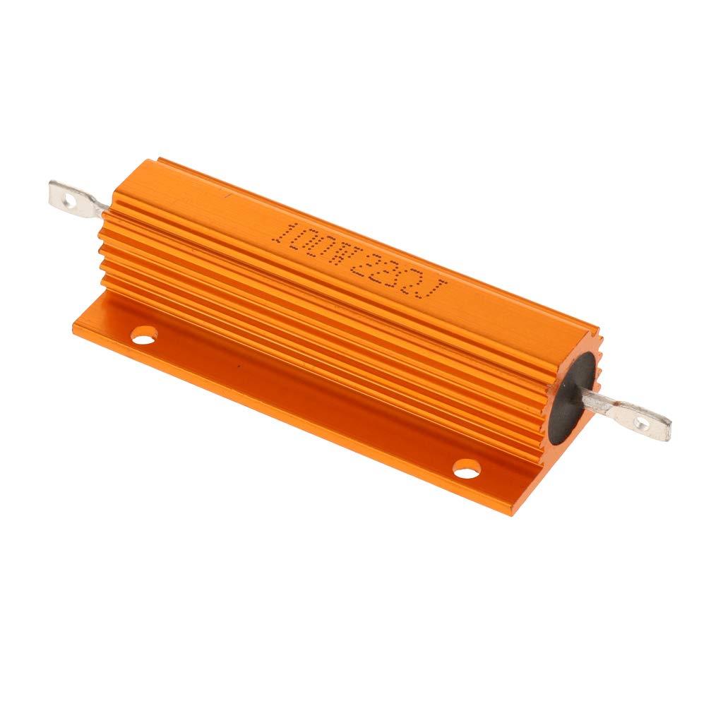 SM SunniMix 100W 22 Ohm Power Resistor Wirewound Aluminum Load