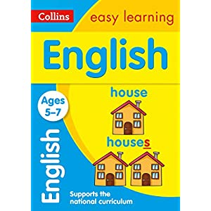English-Ages-5-7-Prepare-for-school-with-easy-home-learning-Collins-Easy-Learning-KS1-Paperback--16-Jun-2014