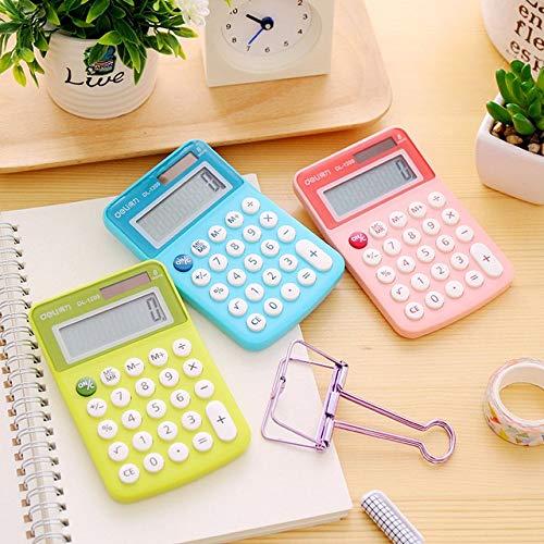 Consegnato a caso Compatta Candy Color Office Student Mini Calcolatrice elettronica Strumento di calcolo in plastica multifunzionale Forniture per ufficio