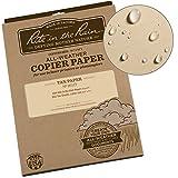 "Rite in the Rain Weatherproof Copier Paper, 8 1/2"" x 11"", 20# Tan, 200 Sheet Pack (No. 9511T)"