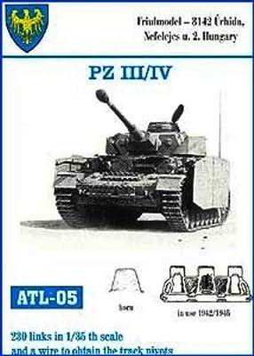Friulmodel 1/35 Metal Track Link Set for Pz III H-K & Pz IV