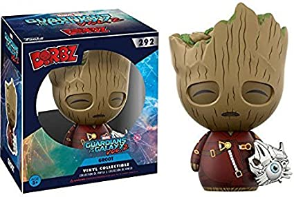 fec8f1bc50d Image Unavailable. Image not available for. Color  Dorbz Funko Marvel  Guardians of the Galaxy Vol. 2 Groot  292 (With Cyber