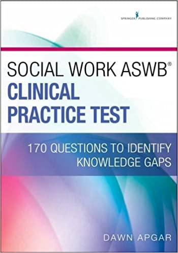 Social Work ASWB Clinical Practice Test: 170 Questions to Identify ...
