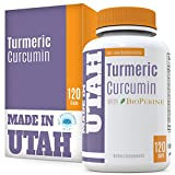#1: Turmeric Curcumin with Bioperine - Best Absorption and Bioavailability, Anti-Inflammatory And Natural Antioxidant With 95% Curcuminoids For Joint Pain Relief - Made in Our Lab in Utah