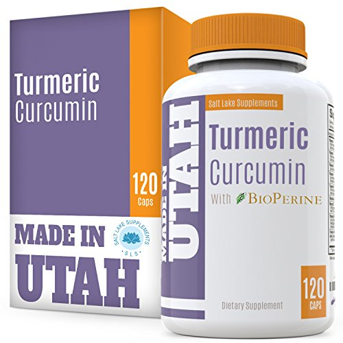 51cuu0GfDSL - FLASH SALE - Turmeric Curcumin with Bioperine - Best Absorption and Bioavailability, Anti-Inflammatory And Natural Antioxidant With 95% Curcuminoids For Joint Pain Relief - Made in Our Lab in Utah