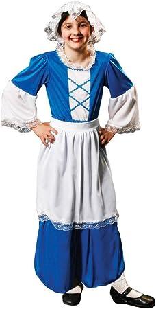 Child - Disfraz de campesina para niña, talla M (7-9 años) (U20 ...