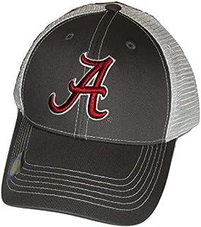 los angeles a7df6 1c350 Alabama Crimson Tide Adjustable Gray Cap Mesh Back Hat