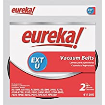 Replacement Belt for Eureka AirSpeed and Sanitaire Upright Vacuums, 2/Pack by Electrolux