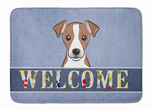 Caroline's Treasures Jack Russell Terrier Welcome Floor Mat 19