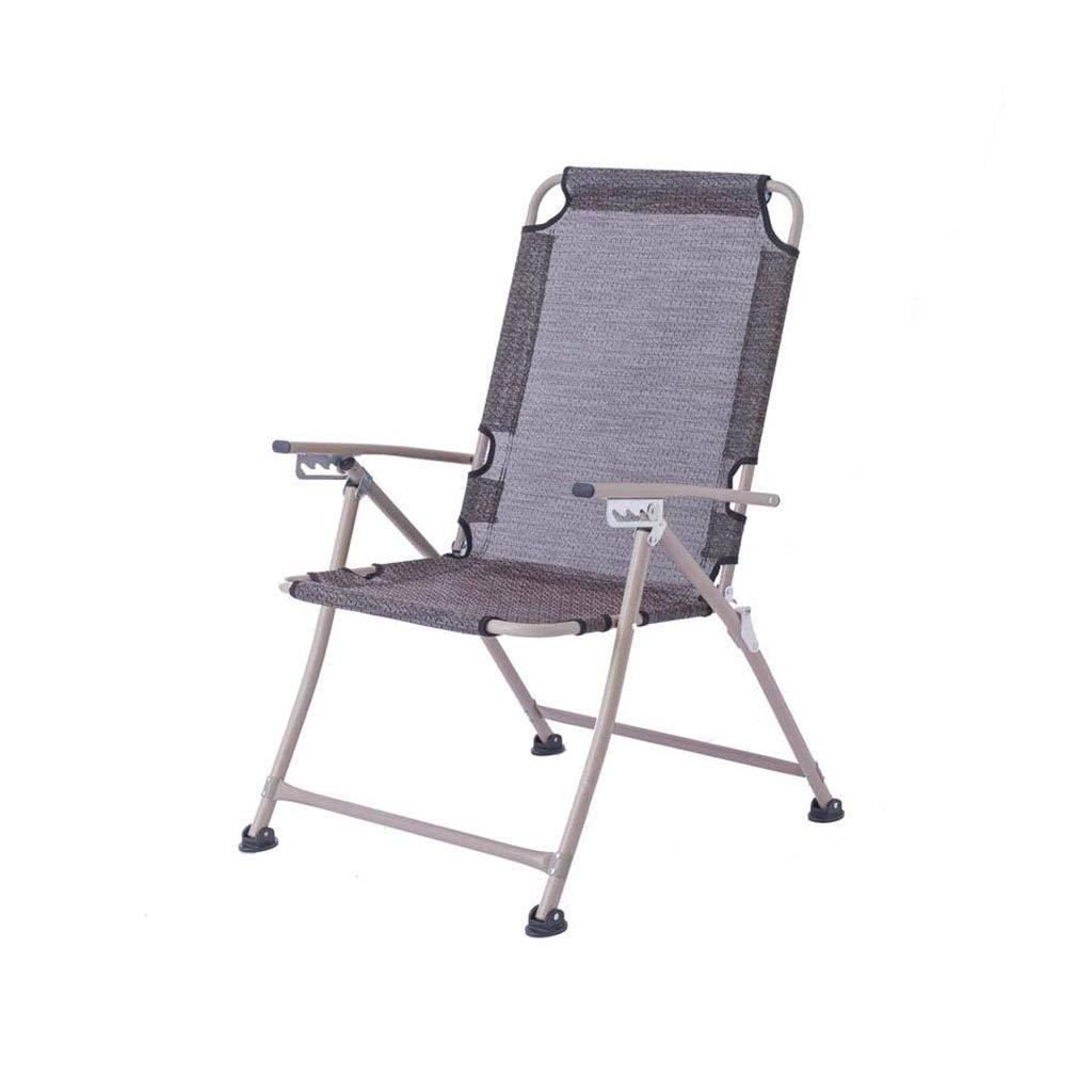 QZ HOME Stühle, Klappstuhl Computer Stuhl Sonnenliege Fauler Stuhl Mittagspause Stuhl Freizeit Einfach Tragbar Multifunktional