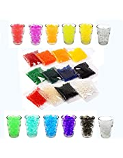 Tesan, 12colori- 3000pezzi, perle di acqua, perle di gel, perle acqua, per riempire vasi, per decorazione mobili e a matrimoni
