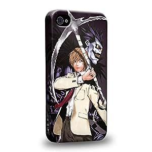 Case88 Premium Designs Death Note Light Yagami Ryuk 1218 Carcasa/Funda dura para el Apple iPhone 4 4s
