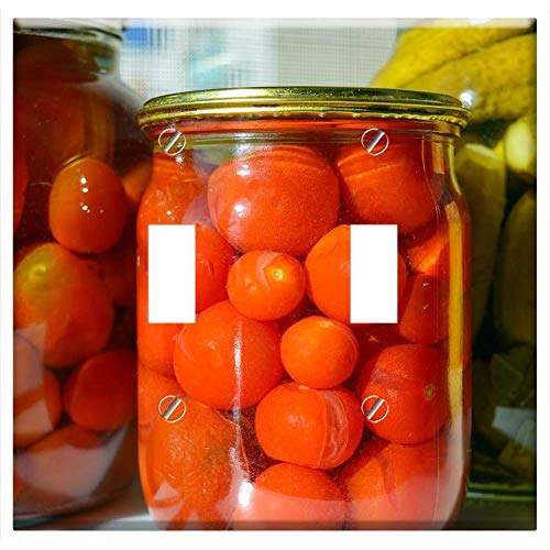 (Switch Plate Double Toggle - Conservation Harvest Marinated Canned Tomatoes)