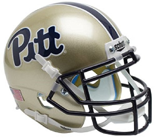 Schutt Pittsburgh Panthers Replica Helmet - Schutt NCAA Pittsburgh Panthers Replica XP Full Size Helmet