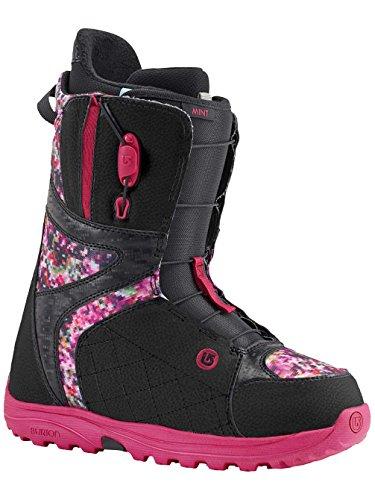 black Boots snowboarding Burton floral Botas pixel de mint mint Black ZTnxnf