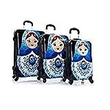 Heys ''Russian Dolls'' 3-Piece Spinner Luggage Set