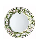 Versace by Rosenthal Flower Fantasy 10-1/2-Inch Dinner Plate