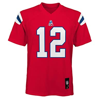 4922dab5c64 Tom Brady New England Patriots NFL Infant Red Alternate Mid-Tier Jersey  (Infants 12