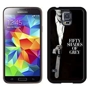 Fashionable And Unique Designed Cover Case For Samsung Galaxy S5 I9600 G900a G900v G900p G900t G900w With Fifty Shades Of Grey Tie_Black Phone Case
