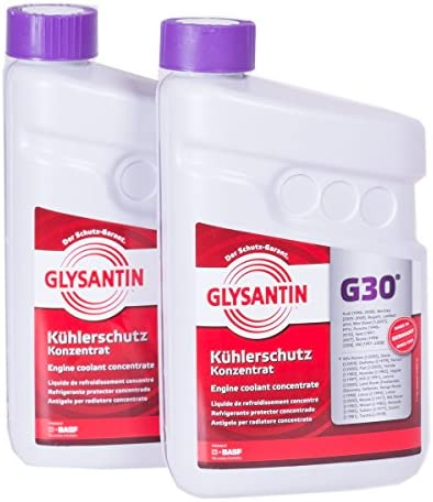 Basf Glysantin Frostschutz Kühlerfrostschutz Konzentrat G30 Pink 3 0 L Auto