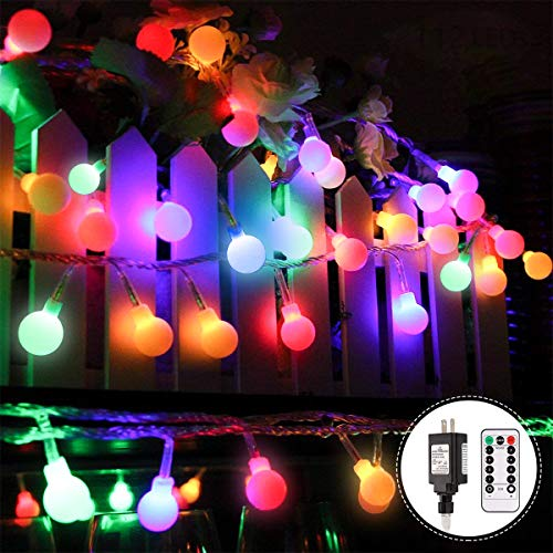 Colored Christmas Lights Outdoor