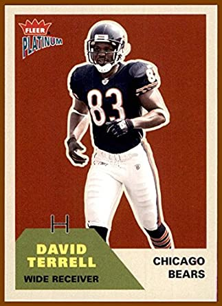 2002 Fleer Platinum  9 David Terrell CHICAGO BEARS MICHIGAN WOLVERINES at  Amazon s Sports Collectibles Store d790fc11e