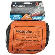 Mosquito Pyramid Net Permethrin Treated Single