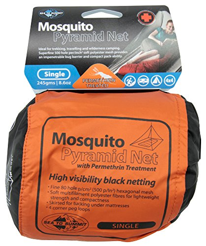 SEA TO SUMMIT MOSQUITO NET WITH PERMETHRIN (SINGLE)