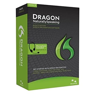 """Nuance Communications, Inc - Nuance Dragon Naturallyspeaking V.12.0 Basic - Complete Product - 1 User - Voice Recognition - Standard Retail - Dvd-Rom - Pc - English """"Product Category: Software Products/Software"""""""