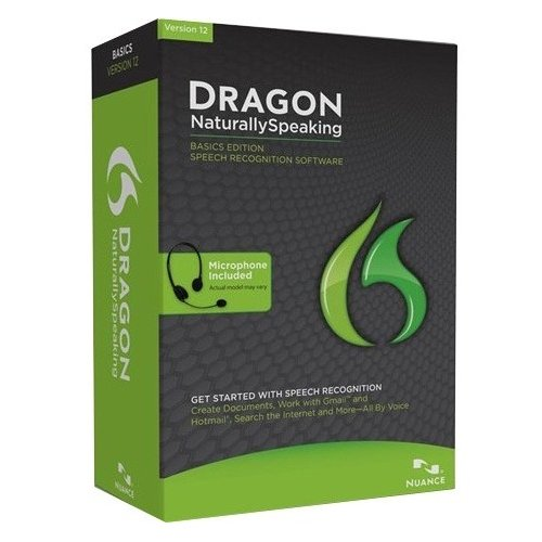 - Nuance Communications, Inc - Nuance Dragon Naturallyspeaking V.12.0 Basic - Complete Product - 1 User - Voice Recognition - Standard Retail - Dvd-Rom - Pc - English