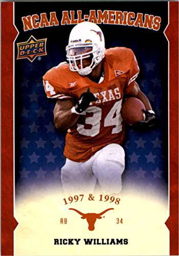 ricky-williams-football-card-texas-longhorns-2011-upper-deck-ncaa-all-americans-1997-1998-aa-wi