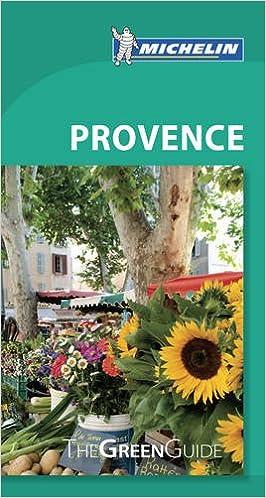 Book Michelin Green Guide Provence