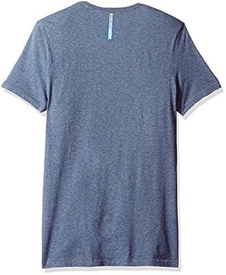 Calvin Klein Jeans Men's Short Sleeve Military Flock Ck Logo Crew Neck T-Shirt