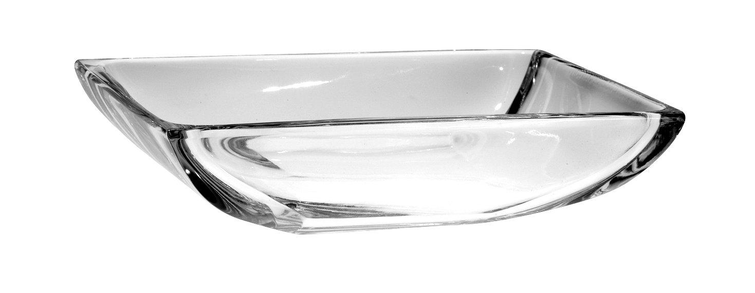 Barski - Crystal - Bathroom - Rectangular - Soap Dish - 6'' L - Made in Europe