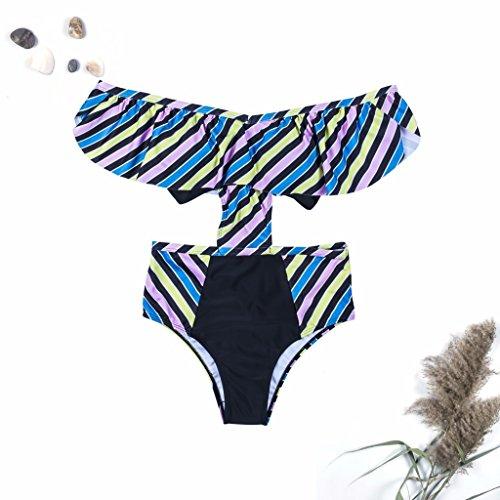 Épaule Bikini Bain Côté Femmes S Maillot Sexy De Guhi Maillot Nouveau En D'un Superflu qUTTwF