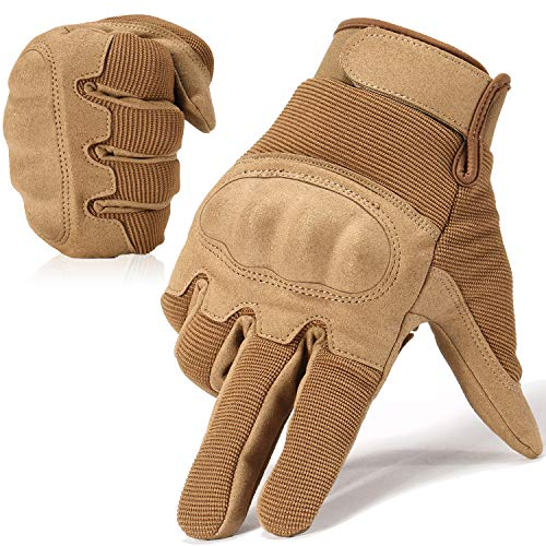 WTACTFUL Military Shooting Hard Knuckle Tactical Gloves for