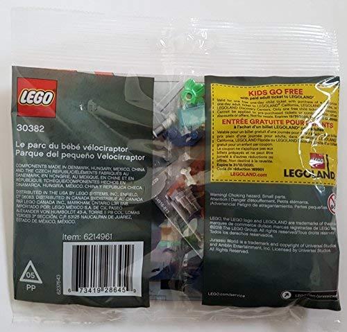 LEGO Jurassic World Baby Velociraptor Playpen (30382) Bagged