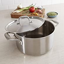 Zwilling J.A. Henckels Sol II 5.7L Stock Pot with Lid (Satin St/St)