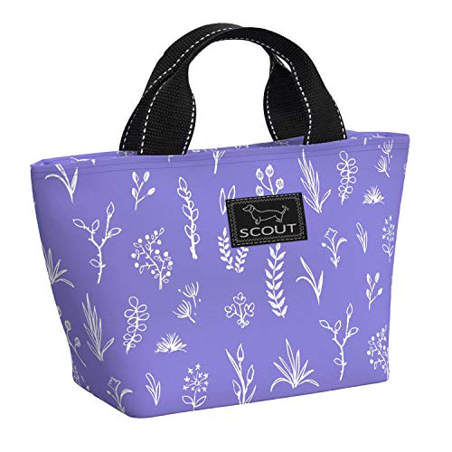 SCOUT NOONER Insulated Lunch Bag for Women, Water-Resistant Soft Cooler Lunch Tote with Zipper Closure (Multiple Patterns Available) ()