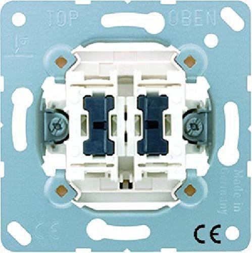 Jung 505KOU5 M?canisme interrupteur de contr?le double 10 AX 250 V ~ Double interrupteur SA avec 2 lampes art n? 94