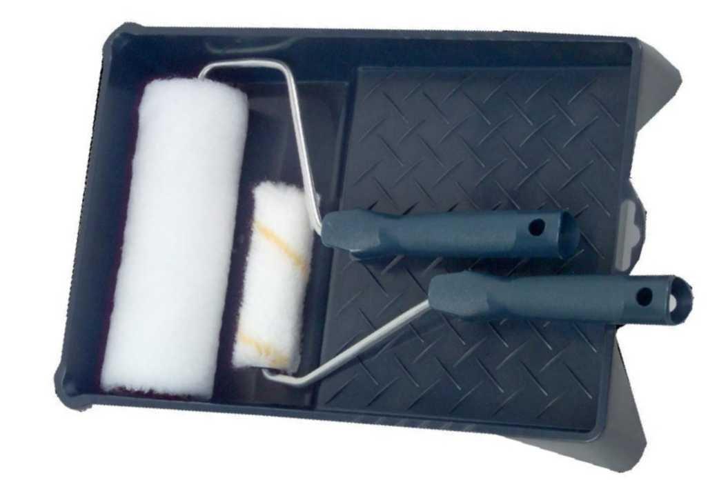 Color Expert L050 Lot Promo Complet Bac/Rouleau pour murs/plafonds 180 mm/Rouleau radiateur