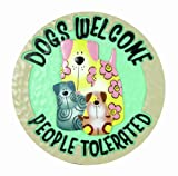 Spoontiques Dogs Welcome Stepping Stone