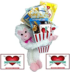 Share The Love Movie Night Gift Basket Includes Movie Popcorn