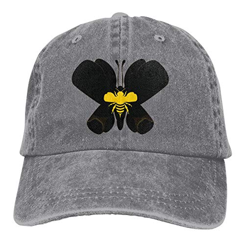 Adjustable Baseball Cap Ali Art Float Like A Butterfly Sting Like A Bee Cool Snapback Hats Gray
