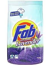 Fab Powder Detergent, Lavender, 4.7kg