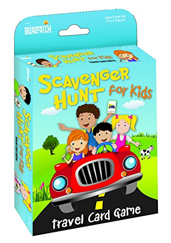 Travel Scavenger Hunt Card Game (Travel Kids Games)